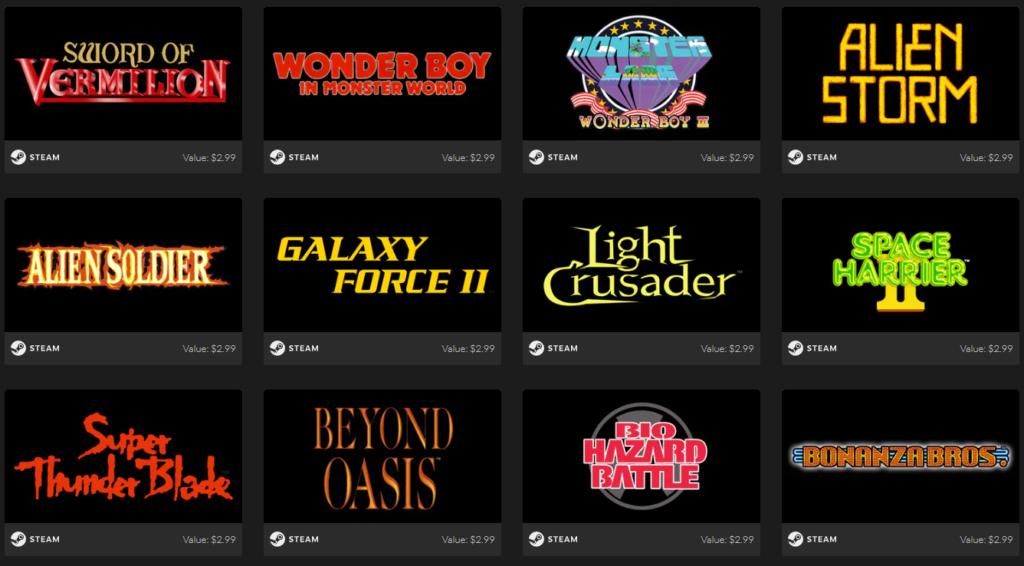 SEGA Mega Drive & Genesis Classics Bundle Games 4