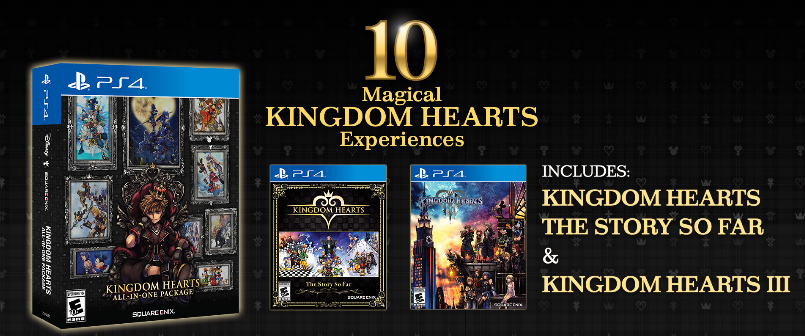 KINGDOM HEARTS All-in-One Package, Square Enix, PlayStation 4