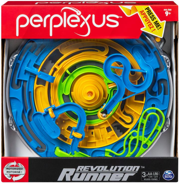Perplexus Revolution Runner, Motorized Perpetual Motion 3D Maze Game