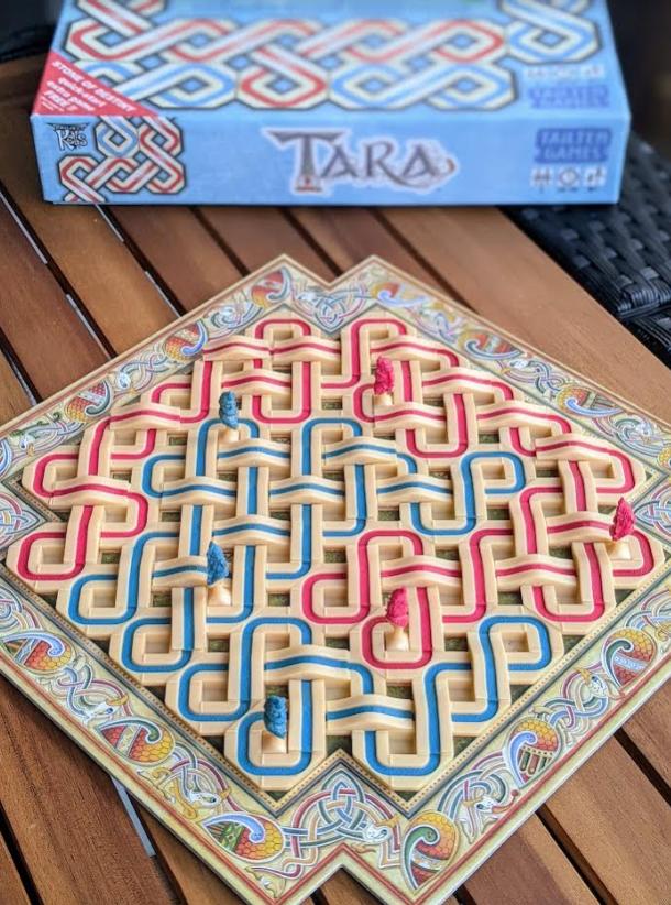 Tara: Ireland's Royal Board Game setup